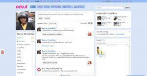 Orkut-account